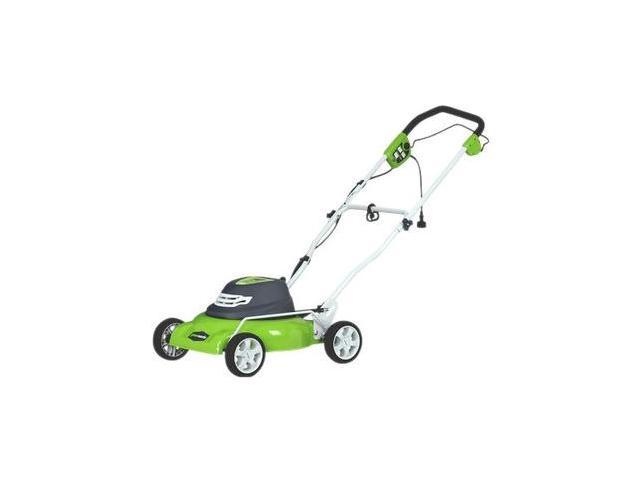 25012 12 Amp 18 in. 2-in-1 Electric Lawn Mower