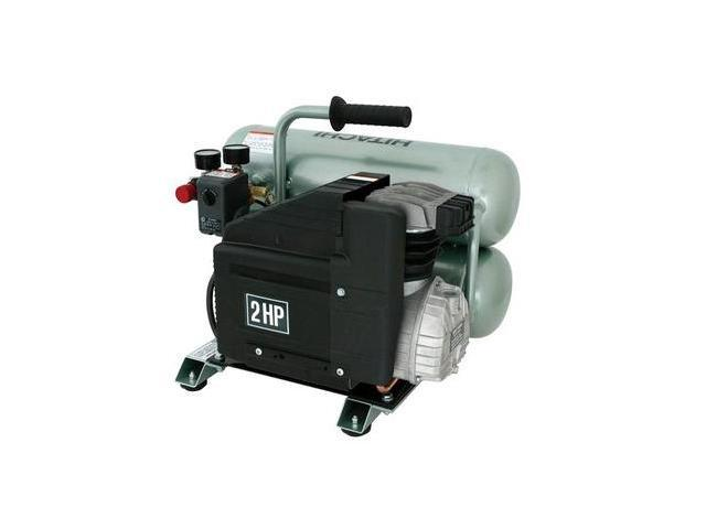 EC12 4 Gallon 1.5 HP Oil-Lubricated Twin Stack Air Compressor