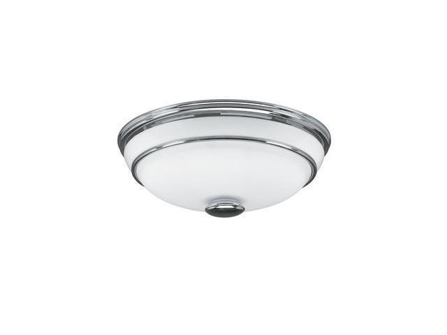 81021 Victorian Chrome Bathroom Fan with Light