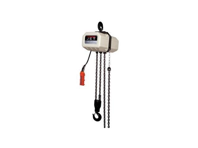 111000 1 Ton Capacity 10 ft. 1-Phase Electric Chain Hoist
