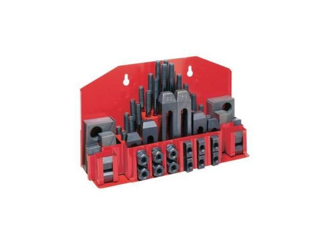 660012 CK-12, 52-Piece Clamping Kit with Tray for 9/16 in. and 5/8 in. T-slot