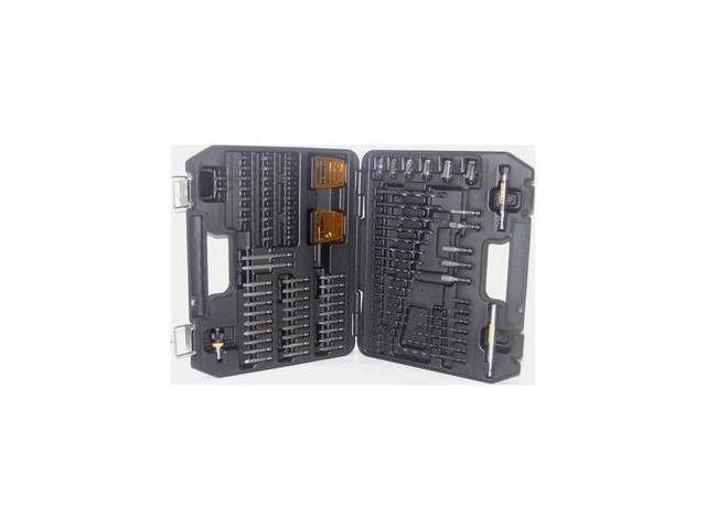 DW252912Y 100-Piece Rapid Load and Quick-Change Tradesman Set w/ Pilot Point