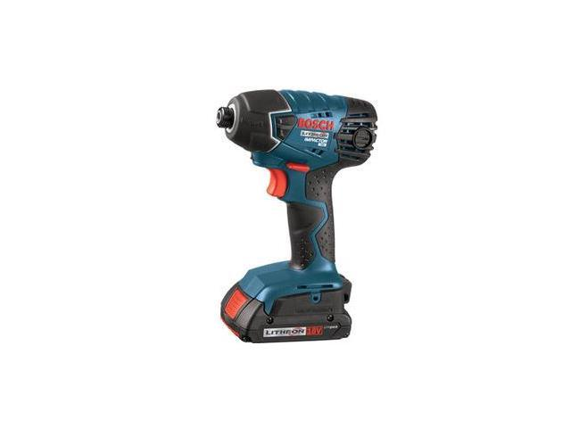 BOSCH 25618-02-RT 18V Cordless Lithium-Ion 1/4 in. Impact Driver w/ SlimPack Batteries