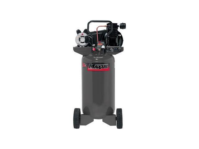 EX8008 2 HP 26 Gallon Oil-Lube Wheeled Vertical Air Compressor