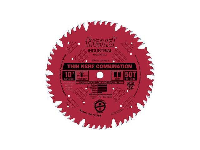 LU83R010 10 in. 50 Tooth Thin Kerf Combination Saw Blade