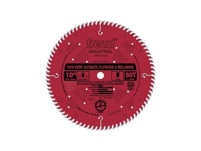 LU79R010 10 in. 80 Tooth Thin Kerf Ultimate Plywood and Melamine Saw Blade
