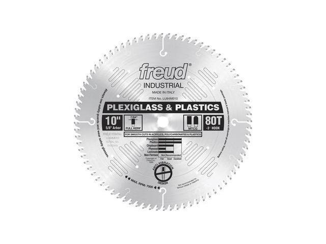 LU94M010 10 in. 80 Tooth Plexiglas/Plastics Saw Blade
