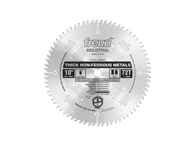 LU89M010 10 in. 72 Tooth Thick Non-Ferrous Metal Saw Blade