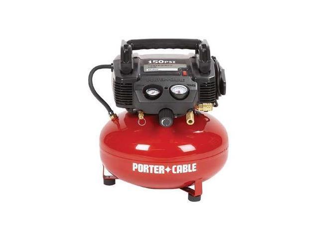 PORTER 0.8 HP 6 Gallon Oil-Free Pancake Air Compressor - C2002R