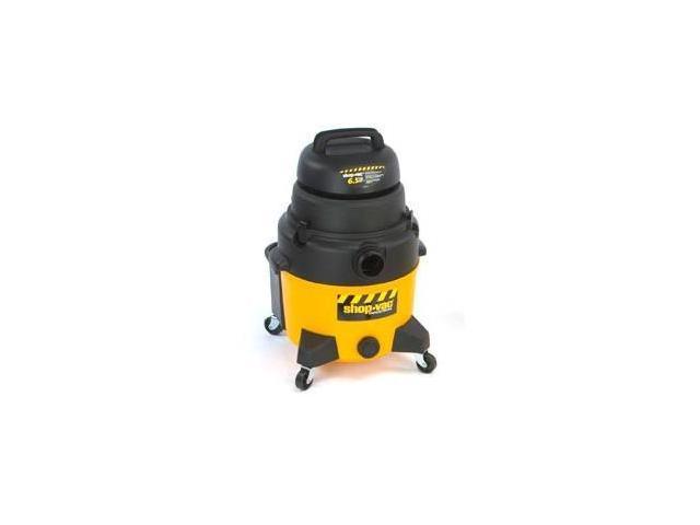 9252810 8 Gallon 6.5 Peak HP Industrial Super Quiet Wet/Dry Vacuum