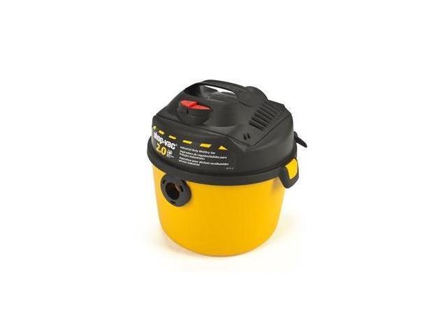 5860210 2.5 Gallon 2.0 Peak HP Right Stuff Wet/Dry Vacuum
