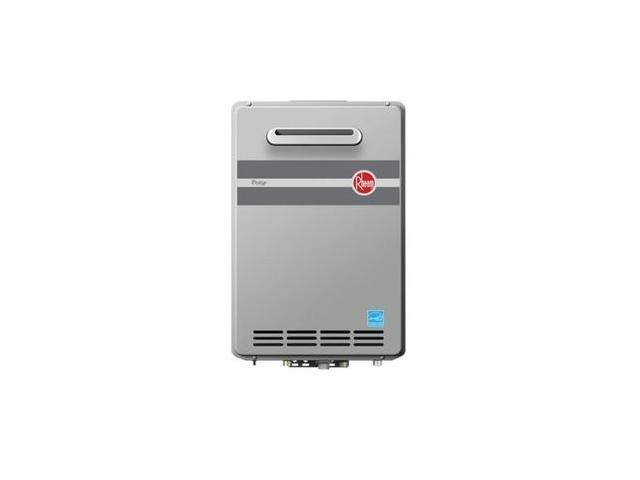 RTGH-95XLP Prestige Outdoor Liquid Propane Condensing Tankless Water Heater for 3 Bathroom Homes