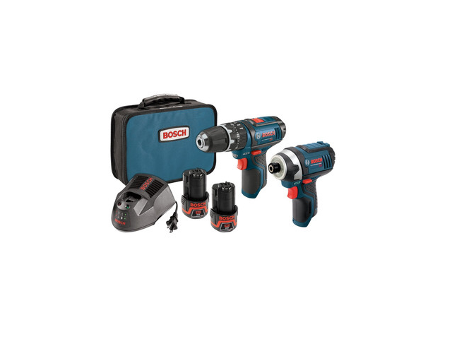 BOSCH CLPK241-120 Cordless Combination Kit, 12V, 2 Tools