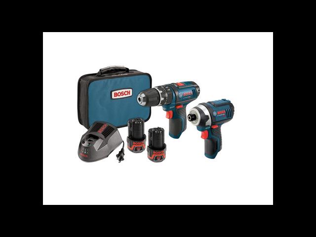 BOSCH CLPK241-120 Cordless Combination Kit, 12V, 2 Tools