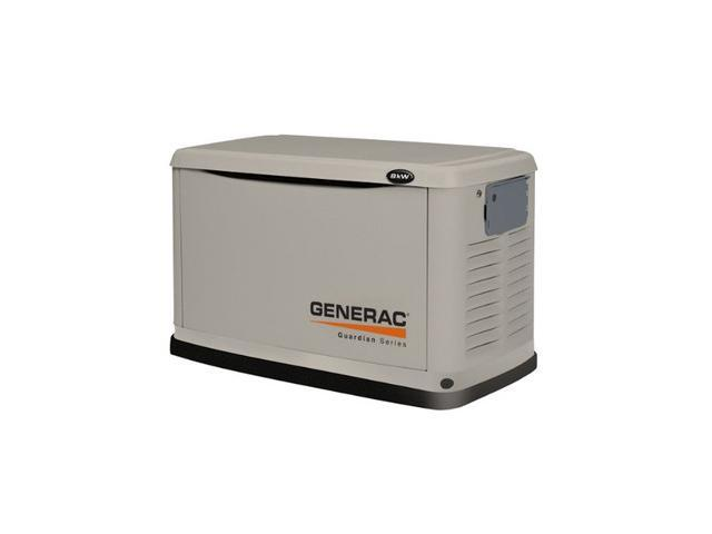6245 Guardian Series 8 kW Air-Cooled Standby Generator with Steel Enclosure