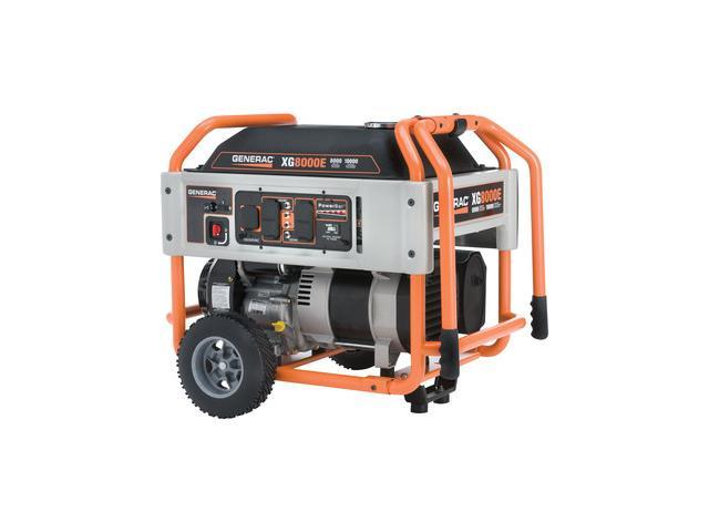 5846 XG Series 8,000 Watt Electric-Manual Start Portable Generator (CARB)