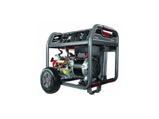 BRIGGS & STRATTON 030552 Portable Generator, Rated Watts7500, 420cc
