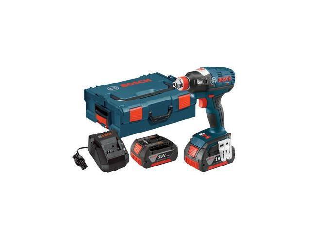 IDH182-01L 18V Cordless Lithium-Ion Brushless Socket Ready Impact Driver Kit with L-BOXX 2 Case