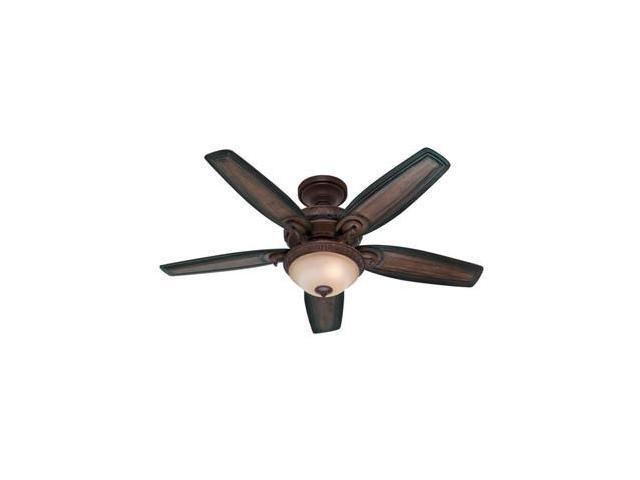 54014 Prestige 54 In Claymore Brushed Cocoa Ceiling Fan