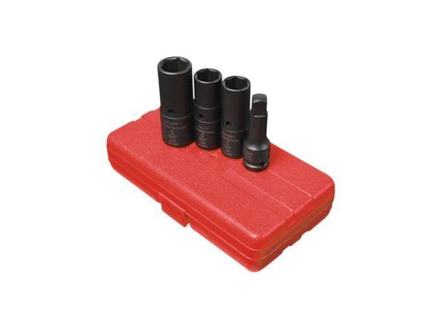 2724 4-Piece 1/2 in. Drive SAE/Metric Deep Well Thin Wall Flip Socket Set