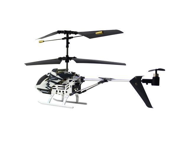 RC Micro IR Metal Iron Eagle Helicopter - White