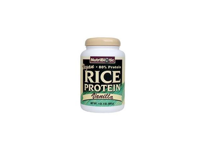 Nutribiotic Vegan Rice Protein Vanilla