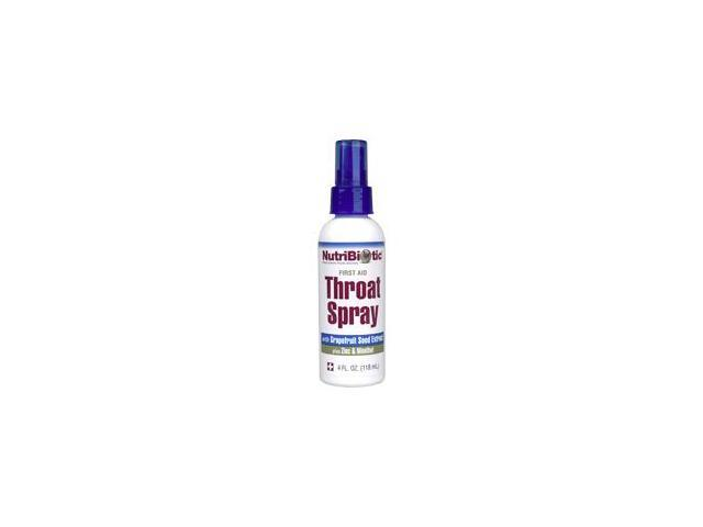 Nutribiotic First Aid Throat Spray w/Zinc + GSE