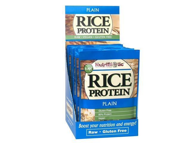 Nutribiotic Vegan Rice Protein Plain