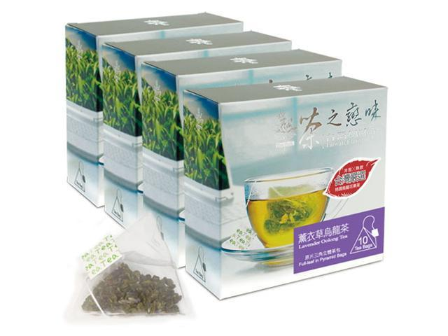 Lavender Oolong Bag Tea (4 Packs/Set)