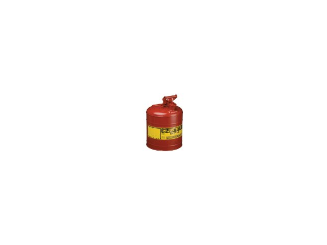 Justrite 2.5G/9.5L SAFE CAN YEL