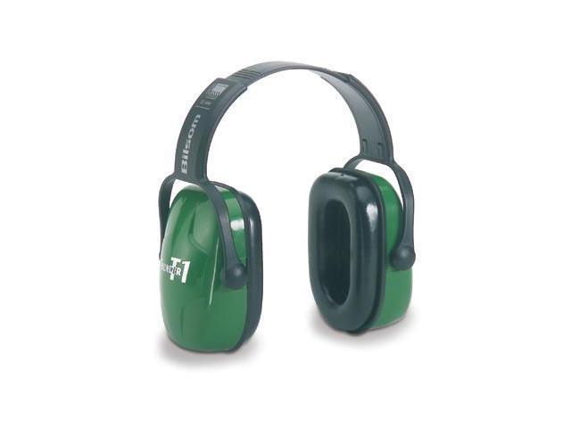 HOWARD LEIGHT BY HONEYWELL 1010928 Ear Muff, 26dB, Over-the-Head, Green