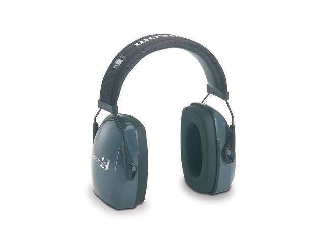 HOWARD LEIGHT BY HONEYWELL 1010922 Ear Muff, 25dB, Over-the-Head, Gray