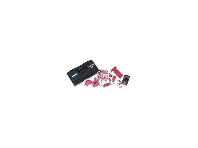 """Lockout/Tagout Toolbox Kit Includes:  16"""" Tool Box"""