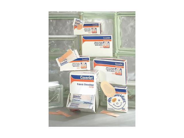 """Bsn-Jobst 7/8"""" Round Coverlet Latex-Free Fabric Spot Adhesive Bandage"""