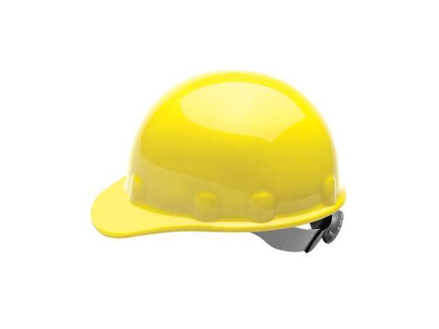 Fibre-Metal  Supereight  Swingstrap Tm Thermoplastic Hard Hat - Yellow - E2...