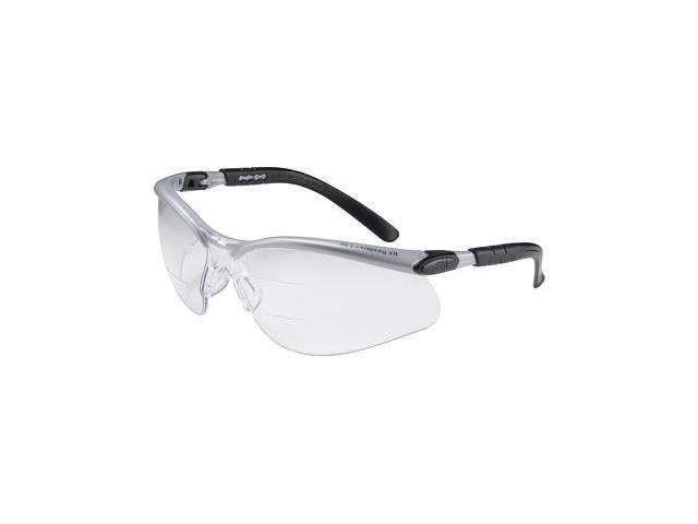Bifocal 3M Bx Dual Readers 1.5 Diopter Safety Glasses Bifocal