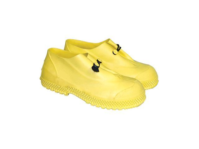 "Small Yellow 4"" Pvc Slip-On Overboots 4"" Pvc Slip-On Overboots"
