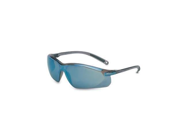 Willson A700 Safety Glasses, Blue Mirror