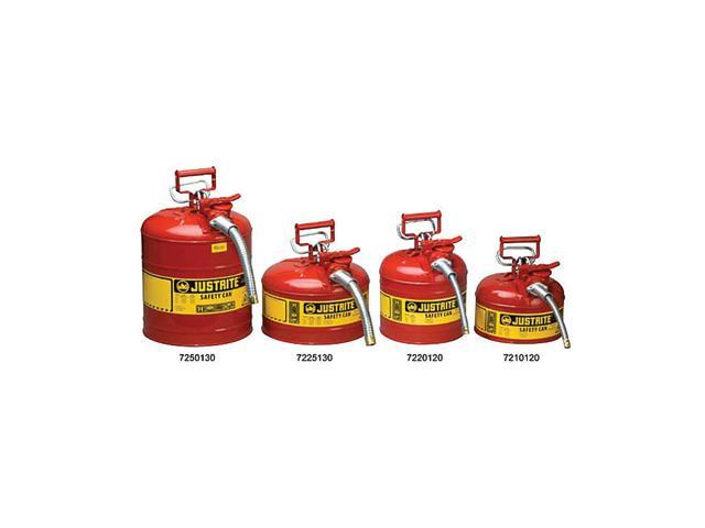 Justrite 5 Gallon Red Accuflow Safety Can