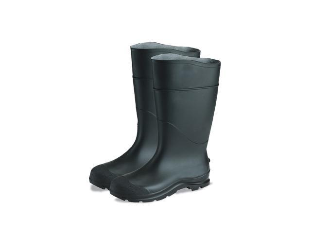 Economy PVC Steel Toe Boot - Black Size 6 - 64055860