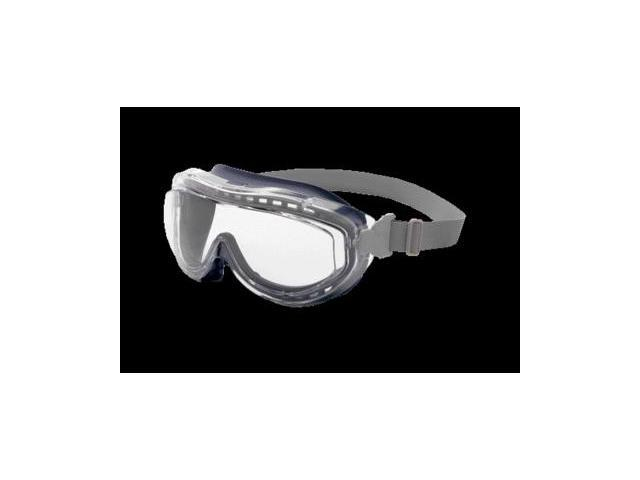 Uvex  Flex Seal  Over-The-Glass Safety Goggles - Gray Body and Clear Lens - S3