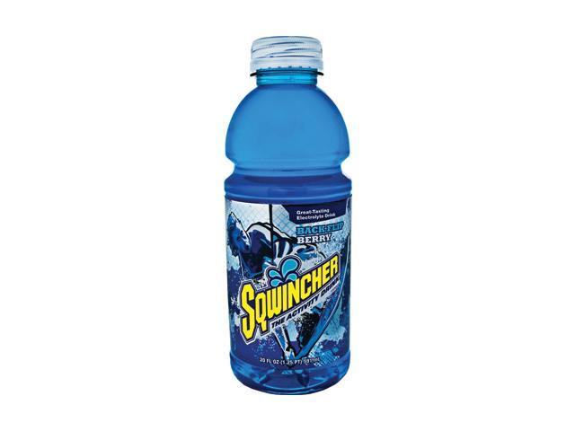 Sqwincher 20 Ounce Wide Mouth Ready To Drink Bottle Backflip Berry Electrolyt...