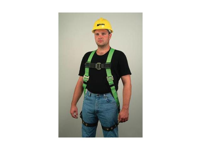 Miller Universal Green Hp Series Non-Stretch Full Body Harness