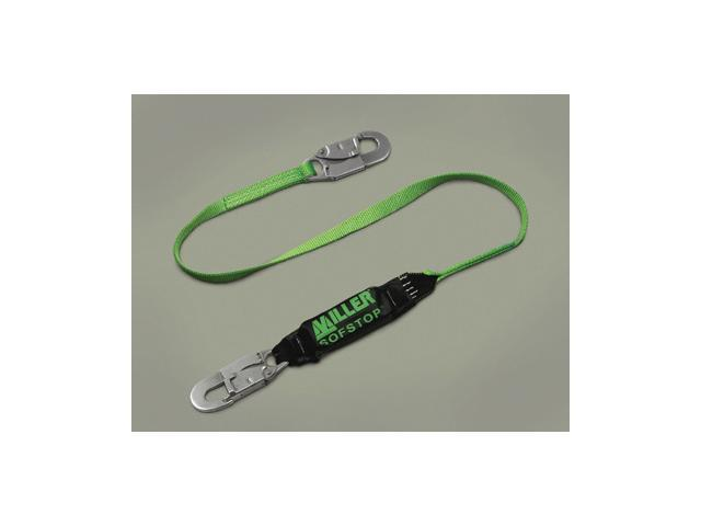 Miller 6' Green Single Leg Hp Lanyard