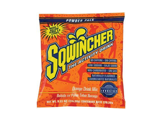 Sqwincher 9.53 Ounce Instant Powder Pack Orange Electrolyte Drink (80 pack)
