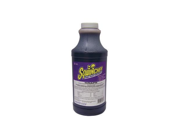 Sqwincher 32 Ounce Liquid Concentrate Grape Electrolyte Drink - Yields 2 1/2 ...