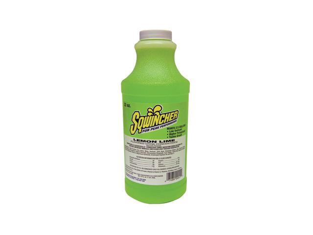Sqwincher 32 Ounce Liquid Concentrate Lemon Lime Electrolyte Drink - Yields 2...
