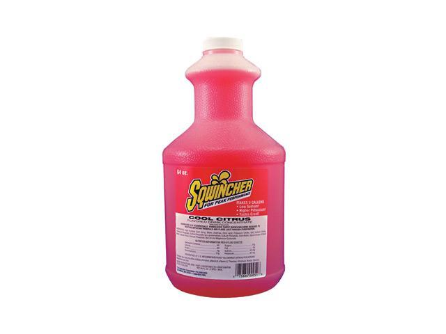 Sqwincher 64 Ounce Liquid Concentrate Cool Citrus Electrolyte Drink - Yields ...