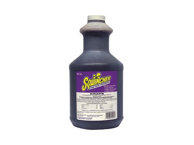 Sqwincher 64 Ounce Liquid Concentrate Grape Electrolyte Drink - Yields 5 Gall...