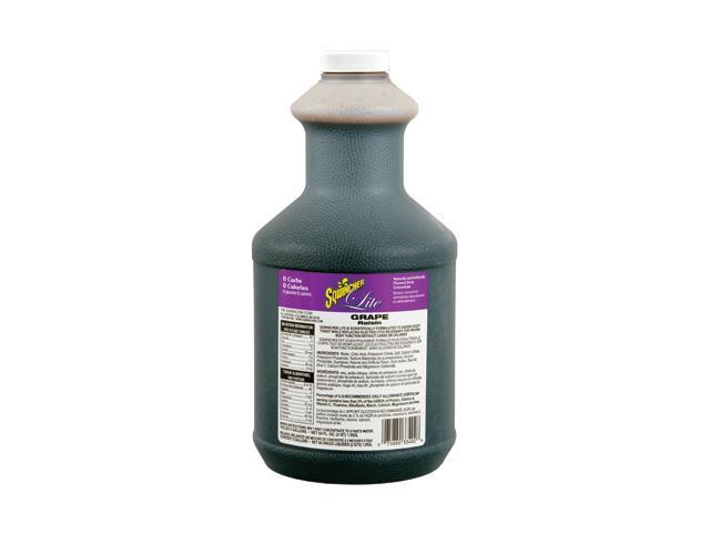 Sqwincher 64 Ounce Liquid Concentrate Grape Lite Electrolyte Drink - Yields 5...